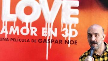 """""""Love amor en 3D"""" no es una cinta autobiográfica, afirma Gaspar Noé"""