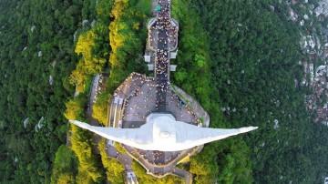 Captan con drones los mejores lugares del mundo