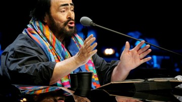 """Cinemex lleva a la pantalla  grande concierto """"Pavarotti & Amigos"""""""