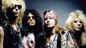 El original Guns N' Roses en México el 19 de Abril