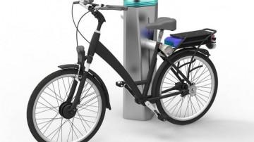 Mexicano crea estación de carga para bicicletas eléctricas