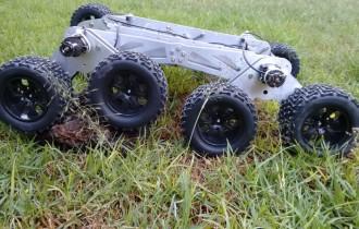 Estudiante de la BUAP crea robot rescatista