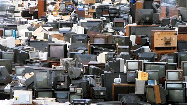 Reciclaje de televisiones antiguas puede causar daño ecológico
