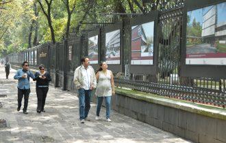 """Inauguran en las rejas de Chapultepec la exposición """"Espacios Politécnicos"""""""