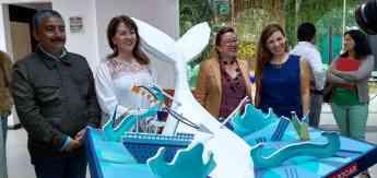 Inauguran Exposición de libros en 3D, en el 5to Aniversario del Centro Cultural Pedro López Elías