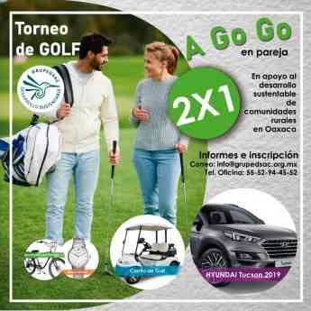 Golf a Go Go con causa social