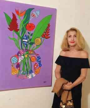 La Condesa Luciana Cacciaguerra Reni presenta su obra en Madrid, España